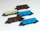 (041-5) Five Container Wagon Set