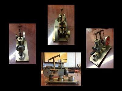 Stirling Hot Air Engine