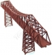 (TB-004) Cantilevered Truss Bridge with Piers