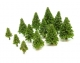 (A-103F) Light Green Fir Trees