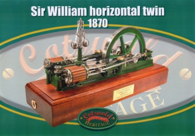 Sir William Horizontal Twin (1870)